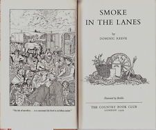 SMOKE IN THE LANES BY DOMINIC REEVE GYPSY TRAVELLER BOOK 1959 ED.