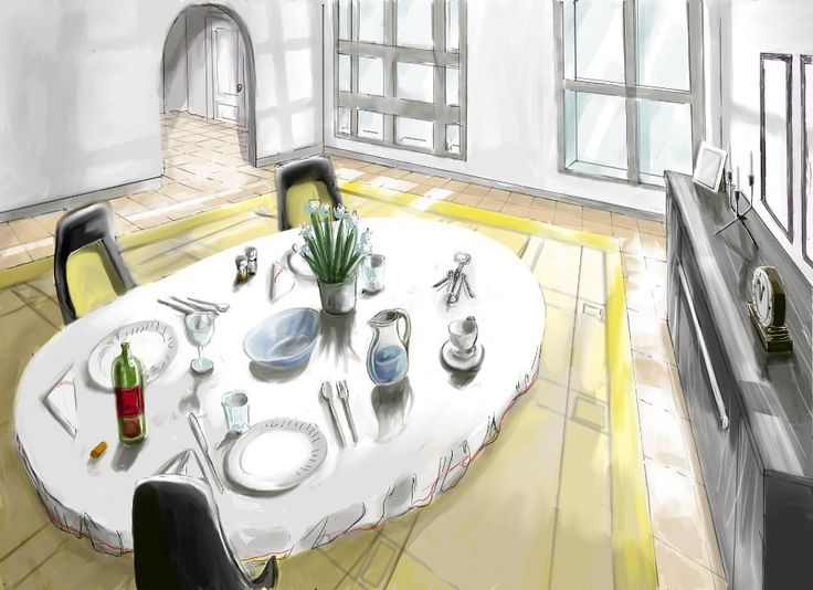 EnglishVOCABULARY Dining Room Click Here To See More