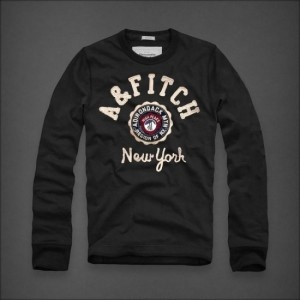 Abercrombie and Fitch Mens Long Tees HCO-109