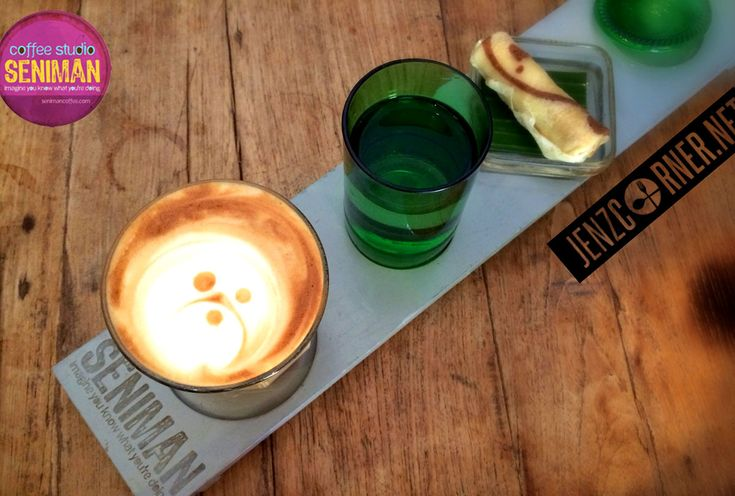 Seniman Coffee Studio  Jl. Sri Wedari Ubud – Bali ph. + 62(361) 972 085 Sun-Mon 8:00 am – 7:00 pm www.senimancoffee.com