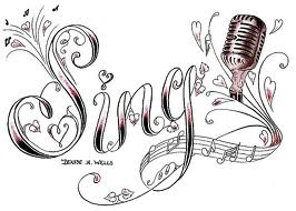 This would be such a good tattoo!!! And it's beautiful too, and I sing! Lol, now does anybody have a good placement for it? :)
