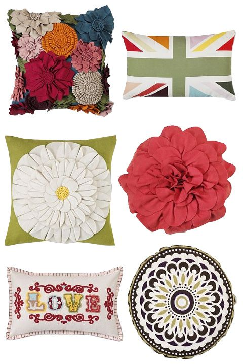 Pillows, pillows, pillows--love these!