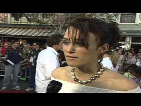 "Pirates Of The Caribbean: Keira Knightley ""Elizabeth Swann"" Premiere Interview - http://hagsharlotsheroines.com/?p=24040"