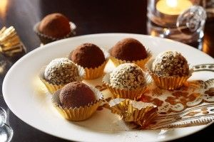 Rum & orange chocolate balls