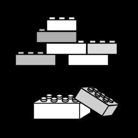 Pictogram Blokken Lego