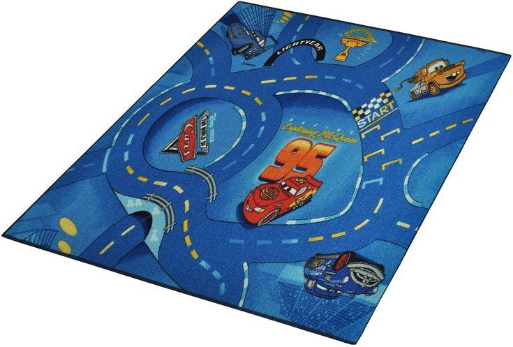 Teppich »CARS« blau, B/L: 95x133cm, 7mm, fußbodenheizungsgeeignet, strapazierfähig, Cars Jetzt bestellen unter: https://moebel.ladendirekt.de/heimtextilien/teppiche/sonstige-teppiche/?uid=0d4d5754-a14d-55e7-b9b3-bcaecaee20bd&utm_source=pinterest&utm_medium=pin&utm_campaign=boards #heimtextilien #teppich #sonstigeteppiche #teppiche