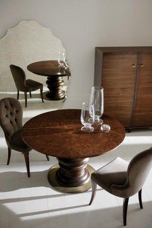 walnut burr edgar table