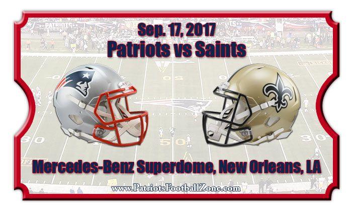 2017 Patriots Vs Saints