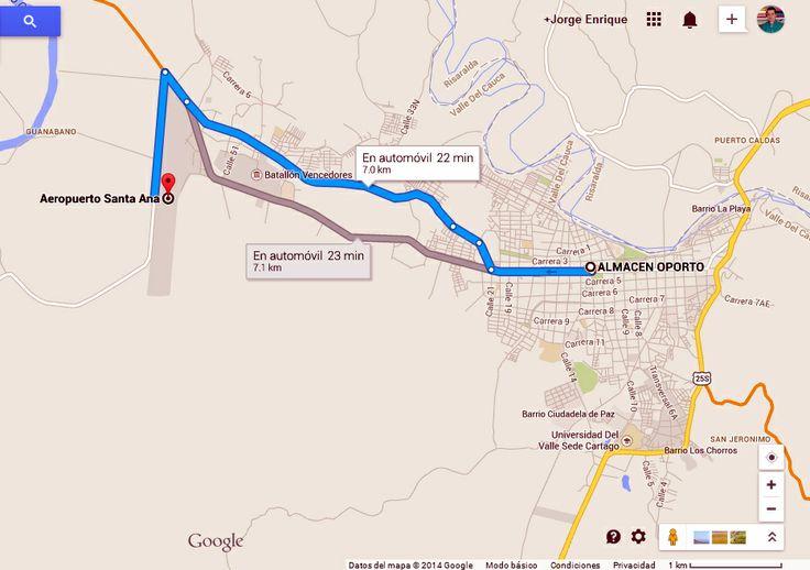 Vía Aeropuerto Santa Ana #Cartago @ALMACENOPORTO Calle 12 # 3-66 L 117 CC Villa De Robledo, Cartago, Valle www.almacenoporto.com.co Tel: 210 2525