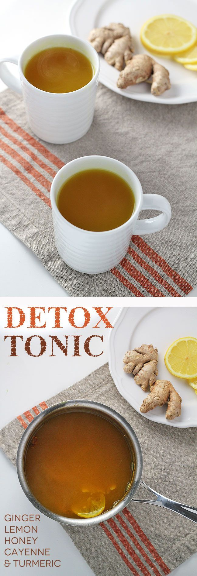 Detox Tonic - 5 powerful ingredients to support detoxification, boost immunity, and help with common allergy symptoms.
