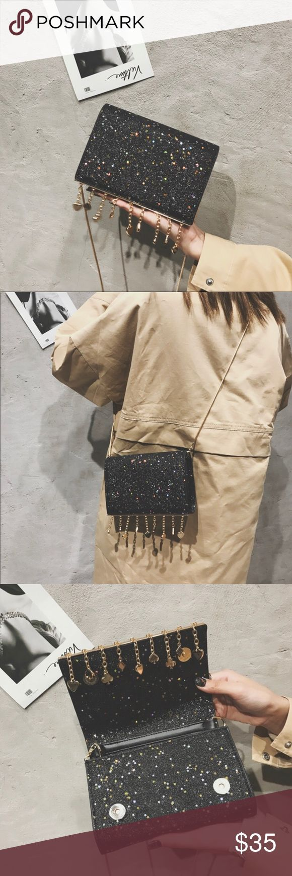 Cute Crossbody !!Brand New !!Size :8*5*1.8in !!Material :PU    Weight:0.6Ib !!Capaticy:7 plus /8 plus case !! Next day shipping Bags Crossbody Bags
