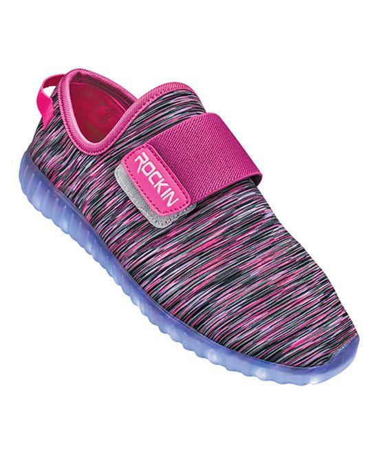 Pink Light-Up Sneaker - Kids