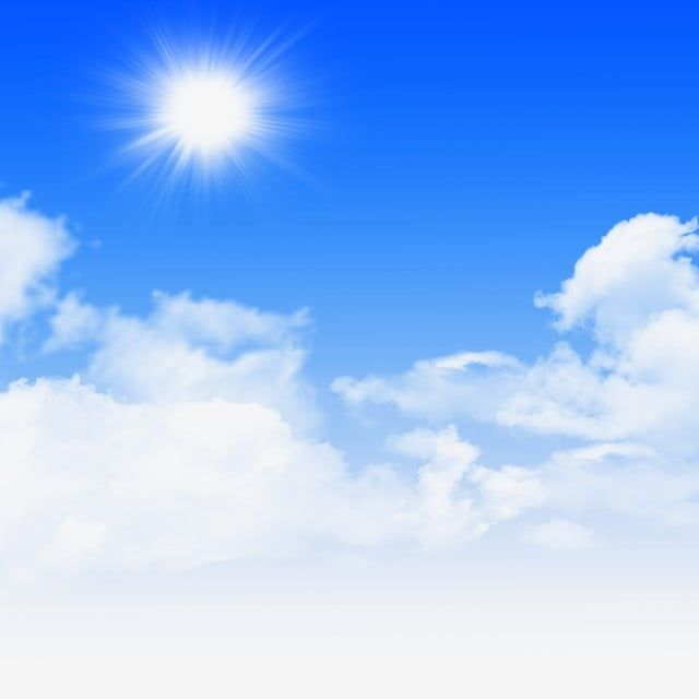Sky Sun Fresh Blue Sky Blue White Clouds Sky Png Transparent Clipart Image And Psd File For Free Download Dslr Background Images Blue Sky Background Light Background Images