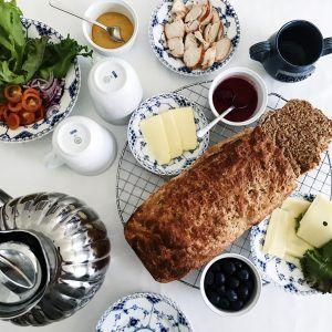 Fuldkornsbrød med dansk grahamsmel - Maria Vestergaard