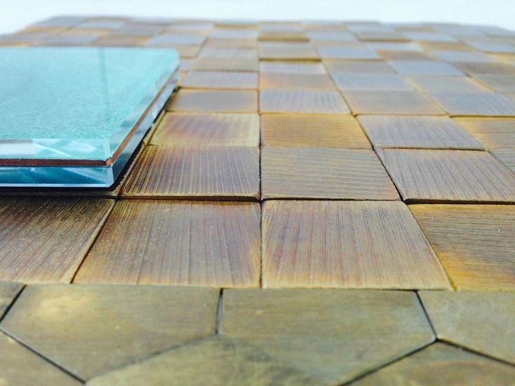 #decastelli #brass #floor #mosaic #iron #glass #greenspan