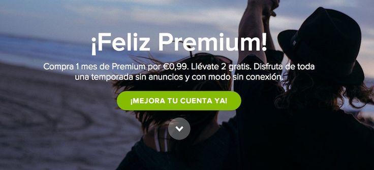Spotify te ofrece 3 meses de cuenta Premium por 0,99 euros - http://www.actualidadiphone.com/2014/12/04/spotify-te-ofrece-3-meses-de-cuenta-premium-por-099-euros/