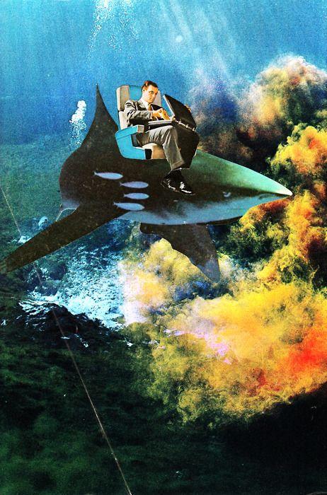 Jheri Evans #CollageArt: 13 Space Art, Collage Art, Jheri Evans, Evans Collageart