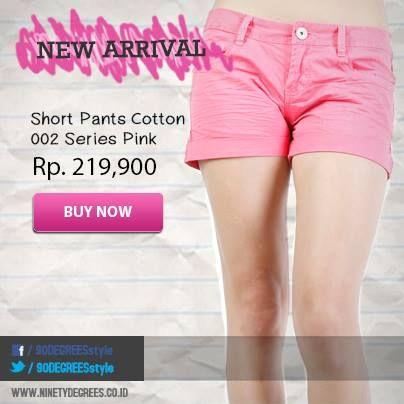 Saat hangout bareng sahabat kamu,short pants ini bisa jadi pilihan outfit keren. Dapatkan di: www.ninetydegrees.co.id