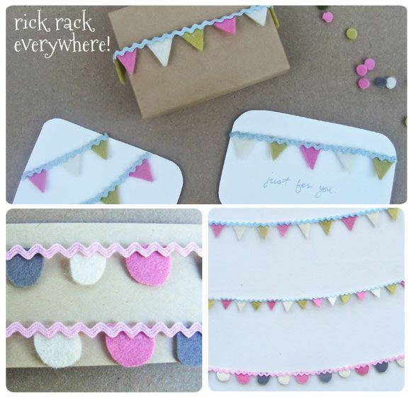Rick Rack Mini Bunting