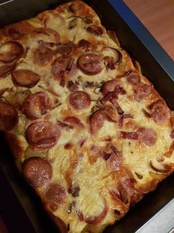 """""""Parasztos"""" vacsora..tepsis krumpli, ahogy mi szeretjük"""
