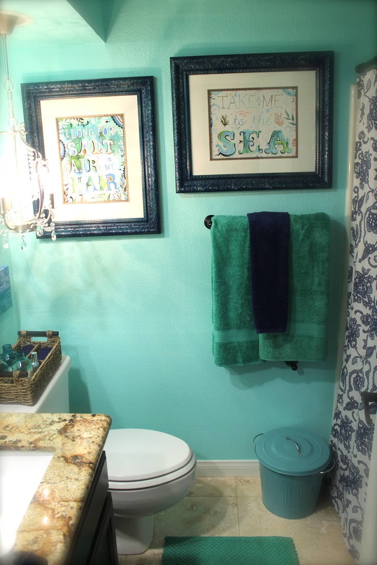 27 Best Ocean Theme Bathroom Images On Pinterest Beach
