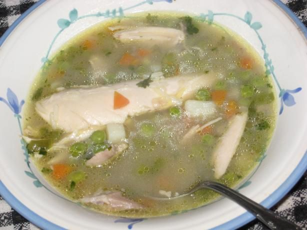 The Best Chicken Soup Ever from Food.com:   I learned how to make this soup when I was in Ecuador a couple of years ago and it is still the best recipe for chicken soup that I have ever tasted.   Please let me know what you think of it.