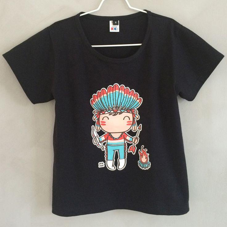 tee shirt Indien/ indian tee shirt tee shirt Oneman sur www.biancapeople.fr