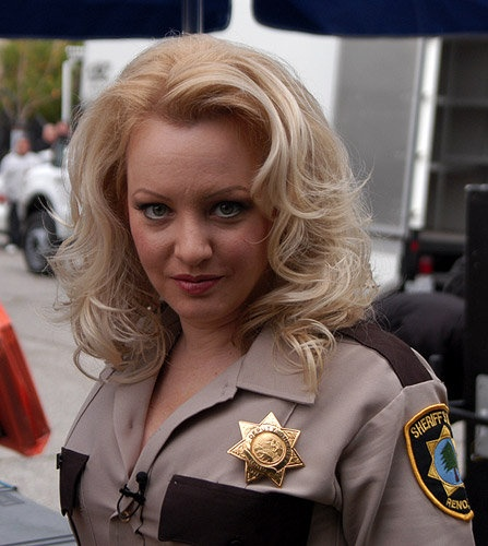 Clemmie from Reno 911 (T as Dangle)