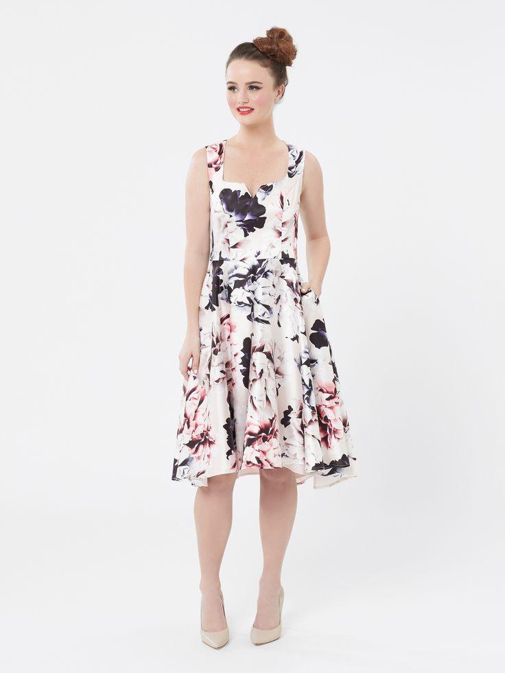 Moonlight Floral Dress