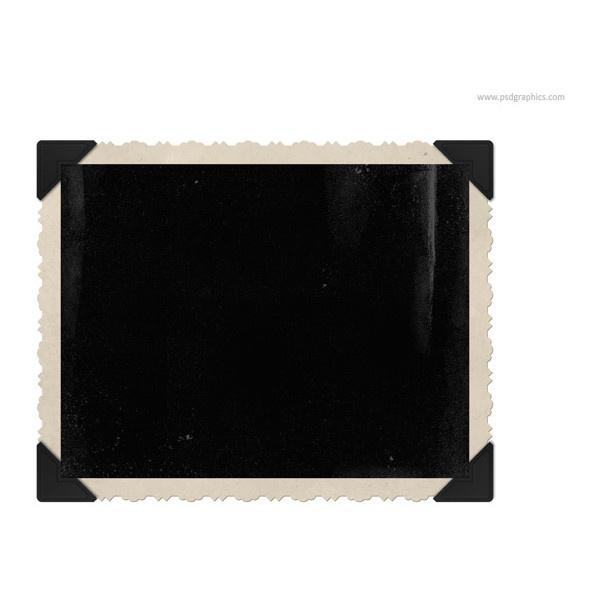 blank polaroid background - 600×600