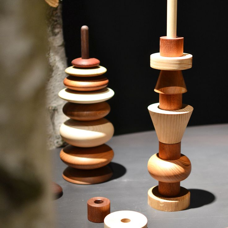"""Zen"" and ""Sottsass"" designed by Andrea Di Giuseppe, are realized by Torneria Meloni, the wood turning master. #naturaltalent #craftsmanship #wood #creativeacademy #museopoldipezzoli #eligo #fondazionecologni #vancleef&arpels www.creative-academy.com www.museopoldipezzoli.it"