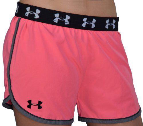 Under Armour Women's Heatgear 4″ Running Shorts « Impulse Clothes