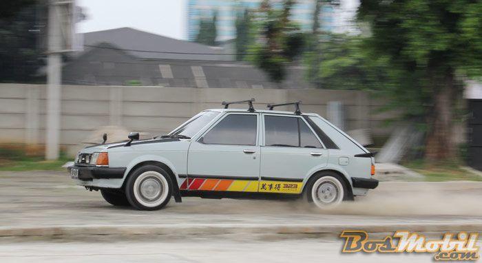 Mazda 323 Hatchback 1983 : Retro Car Bermimpi Jadi Rally Car #info #BosMobil #classic