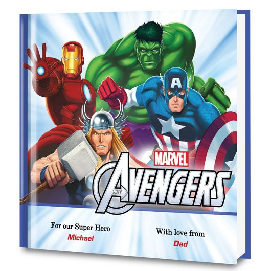 When Earth is in trouble it's up to the Avengers and your child in this personalized book!