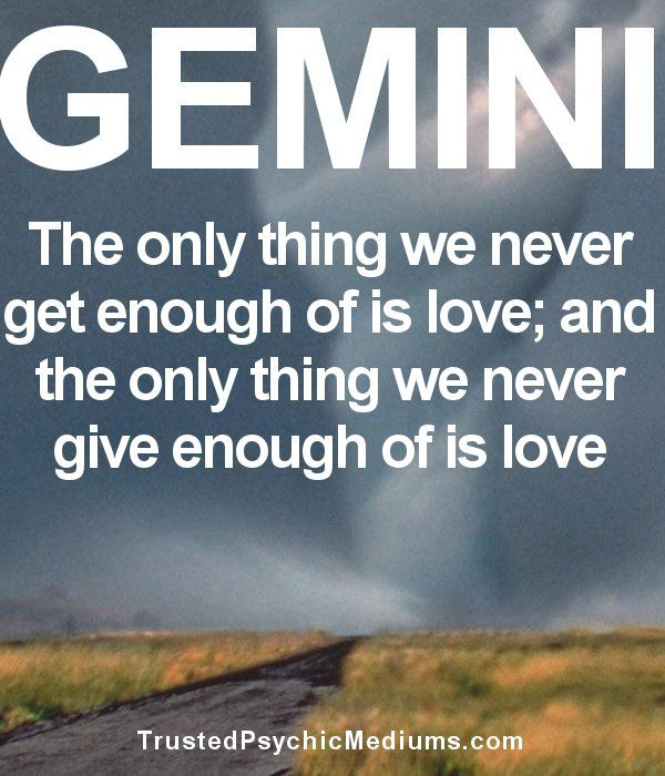 9 Gemini Quotes that only TRUE Gemini Signs can Really Relate to...