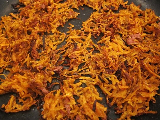 The Easiest Way to Make Sweet Potato Hash Browns