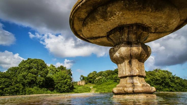 Fontana ottagonale, Monterano, Italy. Photo by Piero Persello #fountain #italy #countryside more info: http://it.wikipedia.org/wiki/Monterano