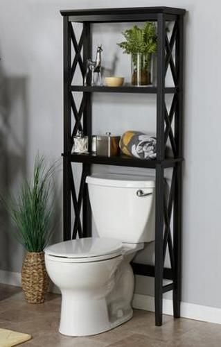 Bathroom-Space-Saver-Over-The-Toilet-Storage-Organizer-Shelf-Shelves-Cabinet