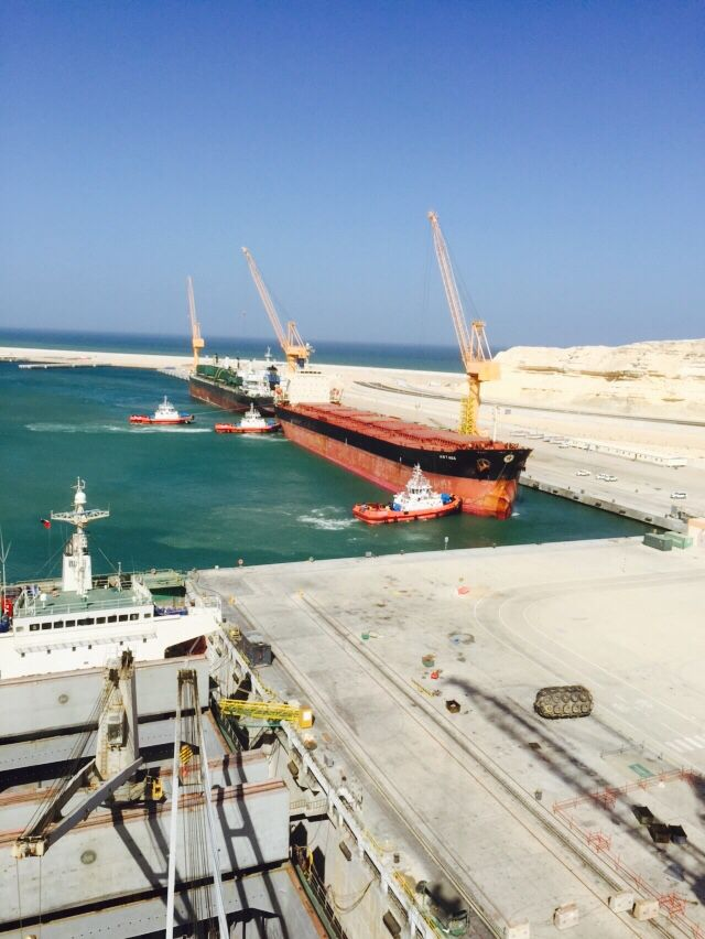 Docking at Oman Drydock Company
