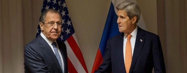 Russian Foreign Minister Sergey Lavrov and U.S. Secretary of State John Kerry (AP)