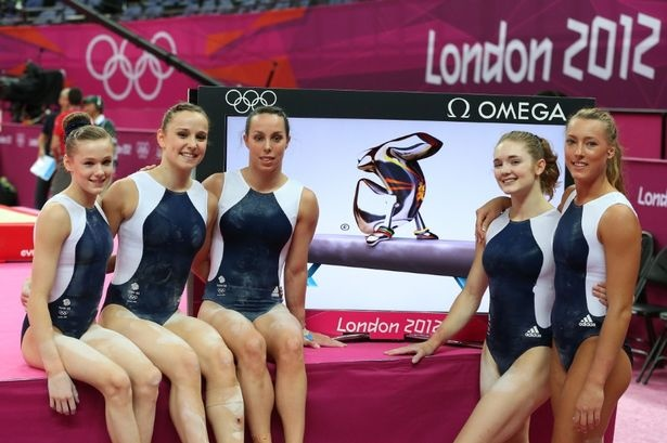 Team GB's women gymnasts