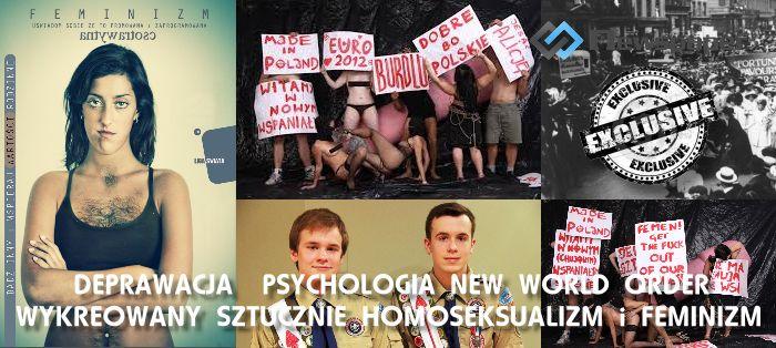 Skonstruowano nowy wymiar Homoseksualizmu -moda deprawacji