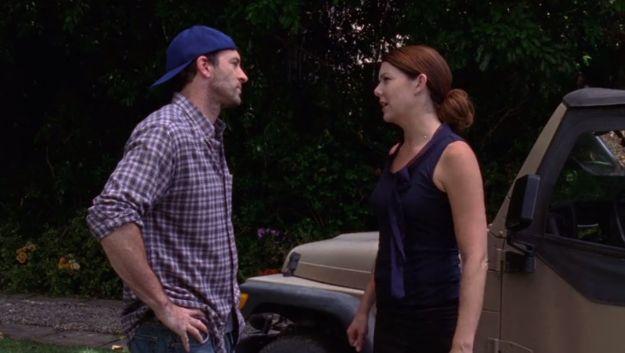 "In the final season premiere of Gilmore Girls, Luke and Lorelai break up. | 29 Things You Forgot Happened In ""Gilmore Girls"" Season 7"