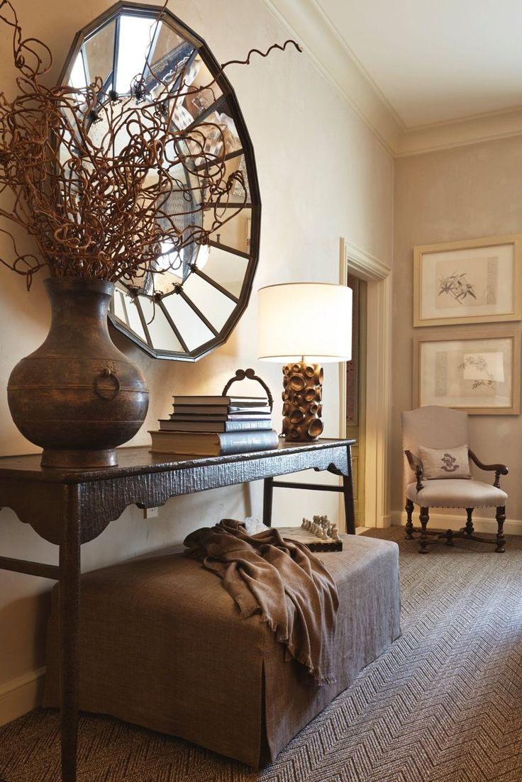 Transitional Bedroom in New York NY by
