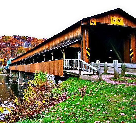 Covered Bridge - Ohio.