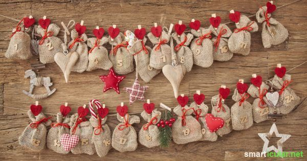 Suchst du Ideen zum Befüllen des Adventskalenders für deinen Partner, Eltern oder die beste Freundin? Hier findest du einfache DIY-Geschenke und andere originelle Kleinigkeiten.