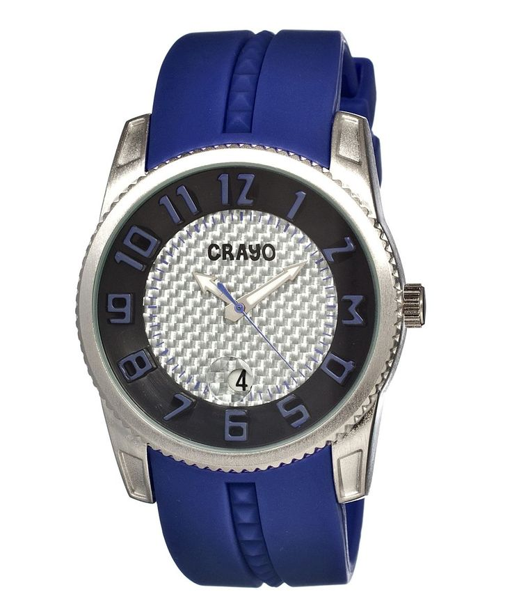 Blue Rugged Watch