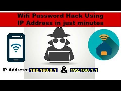 WIFI HACK--How to find wifi password using IP address!!