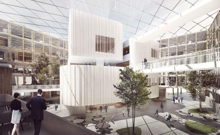 Henning Larsen Architects Thắng cạnh tranh để thiết kế New City Hall ở Uppsala, © Henning Larsen Architects
