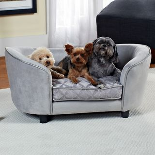 Quicksilver Furniture Pet Bed | Overstock.com Shopping - The Best Prices on Enchanted Home Pet Pet Sofas Furniture